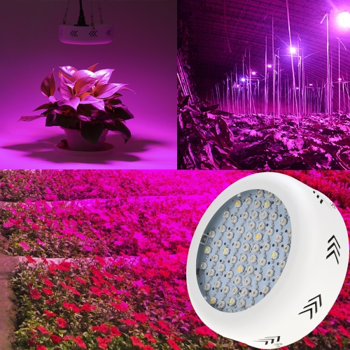 216W 72LEDs 21600LM Full Spectrum Plant Grow Light