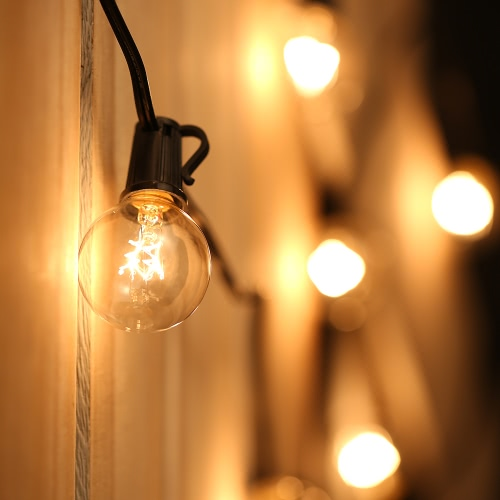 Tomshine 25 Globe Bulbs Incandescent String Light