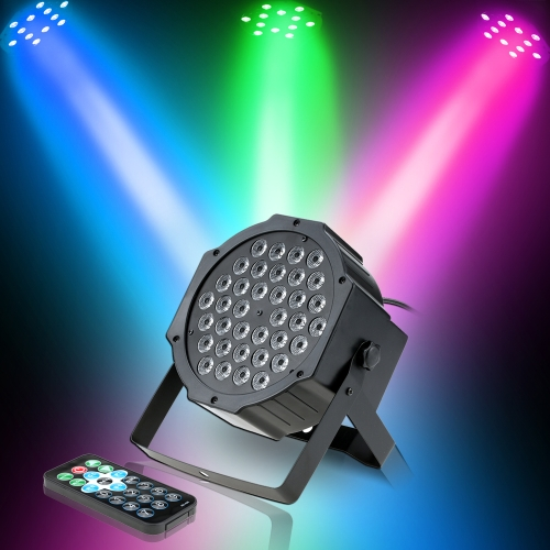 36LED 36W 7Channel Mini High Bright RGB Wash Effect Stage Lamp