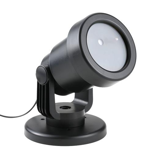 IP65 водонепроницаемый Динамический Красный Зеленый Sky Star Эффект Газон лампа Light Detection Sensor прожектор со сменным плоским основанием Spike фестиваль Украшение для Рождественский пейзаж Garden Party