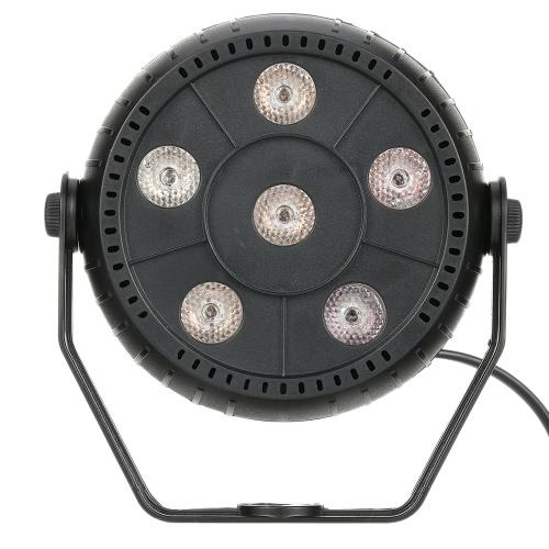 Mini 13W 6 LEDs RGB 3 in 1 Wash Effect Stage Par Light