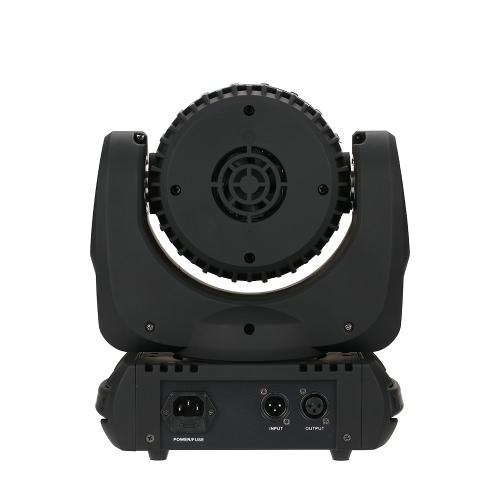 Luz de la etapa principal móvil de 12LEDs RGBW Mini Beam