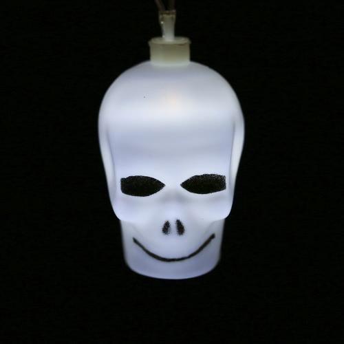 20LEDs 16.4ft Skull String Light Lamp