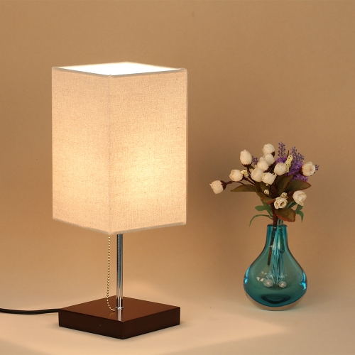 Tomshine Tetragonum Square Beside Table Lamp Desk Light