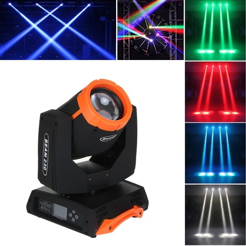 7R Sharp 230W RGBW DMX512 Движущийся головной свет этапа