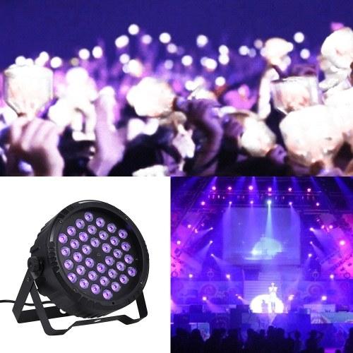 Ультрафиолетовый световой эффект Par Light Stage Lights Lamp с беспроводным пультом дистанционного управления