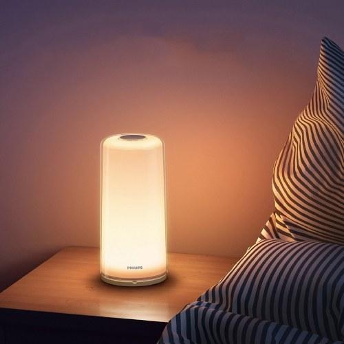 PHILIPS Zhirui 100-240V 12W Intelligente LED-Lichtlampe, die Nachtlicht dimmt