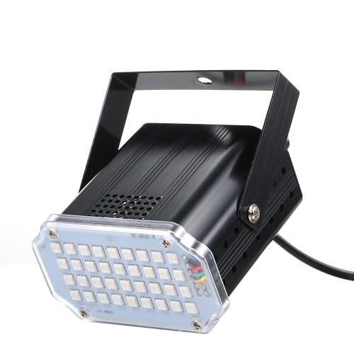 AC100-240V 10W RGB 36LED Luz de