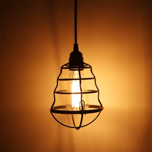 Industrial Plug In Pendant Light On Off Switch Vintage
