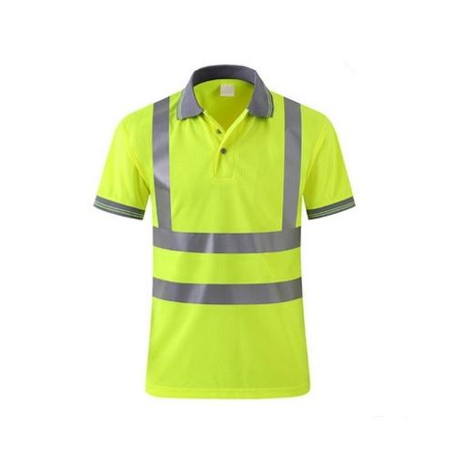 T-shirt Work Safety Vestuário Vestuário de trabalho Dry Fit T-shirt