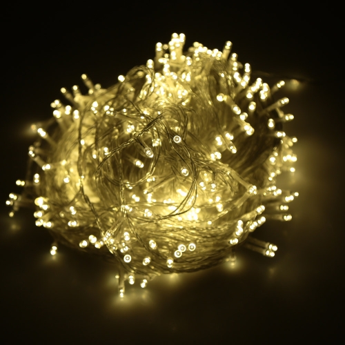 Lixada 40M 400 LED Fairy String Light Lamp with US Standard Plug for Party Wedding Christmas Home Room Decor Gift