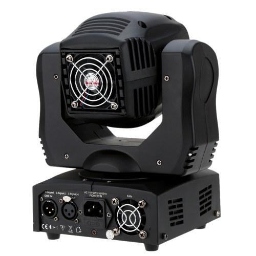 35W DMX512 Sound Control Auto Rotating 9 / 11 Channels Moving Head Light