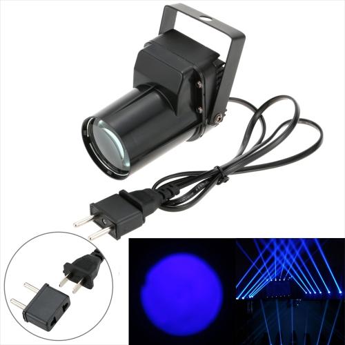 3W Mini LED Single Color Beam Pinspot Spotlight Effect Stage Light Lamp