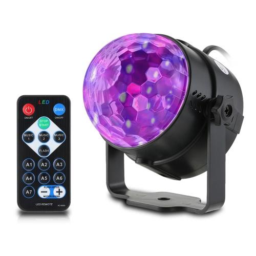 Lámpara LED Mini Magic Ball Etapa Efecto de luz