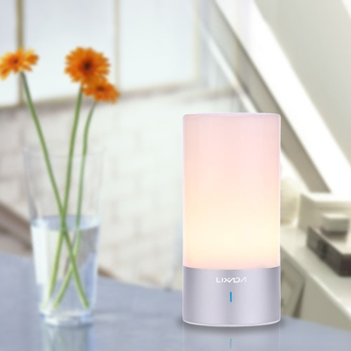 Lixada Bedside Night Light 6W Warm White Dimmable Lamp