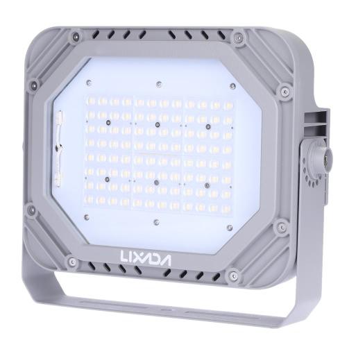 Certyfikat Lixada TUV 200-240V 80W 9200LM Wysoka Jasność IP66 Wodoodporna Biała Dioda LED Reflektor Światła Punktowe Lampa Bezpieczeństwa na ścianę Ogród Oświetlenie zewnętrzne