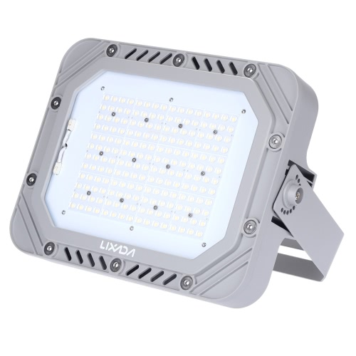 Lixada TUV Certification 200-240V 150W 17250LM High Bright IP66 Water Resistant White LED Flood Light Spotlight Security Lamp for Garden Wall Outdoor Illumination