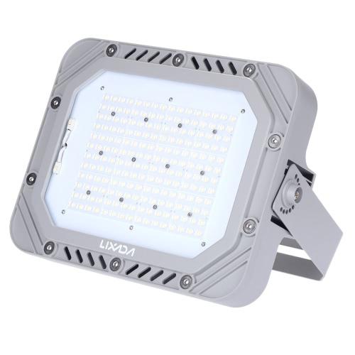 Certyfikat Lixada TUV 200-240V 150W 17250LM Wysoka jasność IP66 Odporna na wodę biała dioda LED Reflektor Światła przeciwpożarowe Lampa ochronna na ścianę ogrodową Oświetlenie zewnętrzne