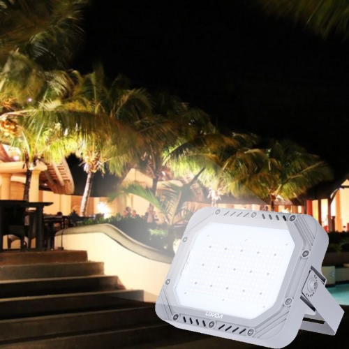 LIXADA blanc LED Flood Light shuffle MP3