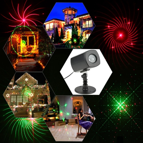 Tomshine IP65 Waterproof LED Projector Lawn Lamp Spotlight