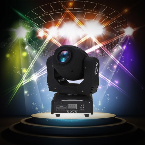 60W LED 8 Gobos 8 цветов RGBW Moving Head Stage Effect Light