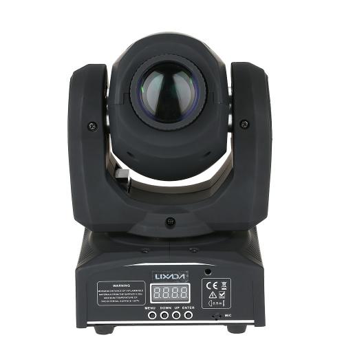Lixada 50W 9 / 11 Channel Mini Moving Head Light RGBW LED Stage Effect Light
