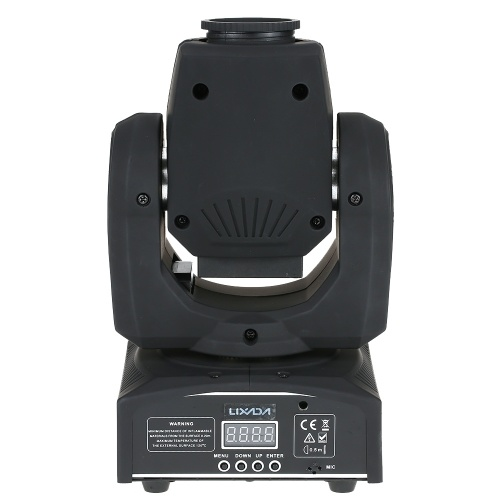 Lixada 50W 11/9 canales mini luz principal móvil RGBW LED de la etapa Efecto de luz