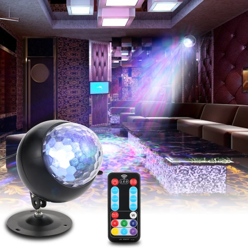 Tomshine 10W Color Changing Mini Water Wave Ripple Effect LED Stage Light
