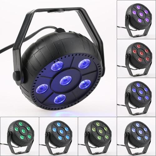 Mini 13W 6 LED RGB 3 en 1 Efecto de lavado Etapa Par Luz