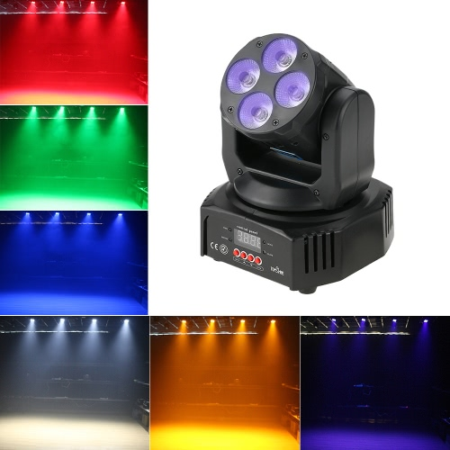 Tomshine 60W 4 LED Washing Effect Moving Head Stage Light
