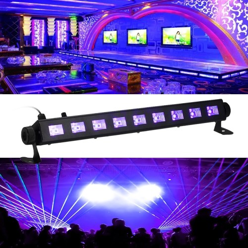 Tomshine Dimmable LED UV Bar Black Light Lamp
