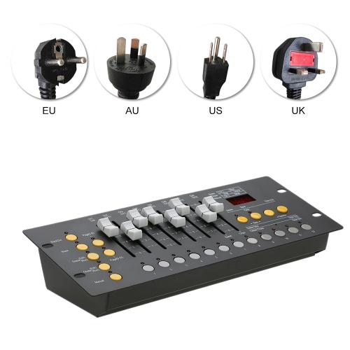 192 канала DMX512 Controller Console Оборудование для освещения сцены