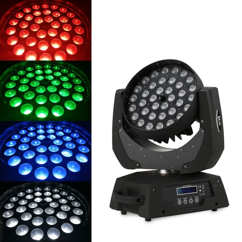 36LEDs DMX512 Moving Head RGBW Stage Light