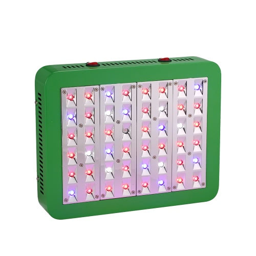 480W 48LEDs 14400LM Double Control Plant Grow Light Full Spectrum Growth Lamp for Indoor Greenhouse Flowers