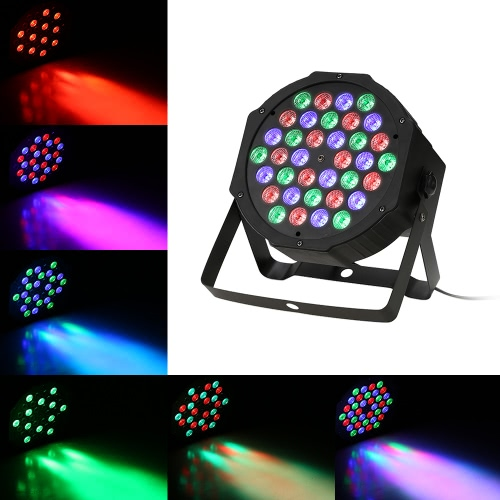 36LEDs RGB Plastic Mini Flat Stage Par Light