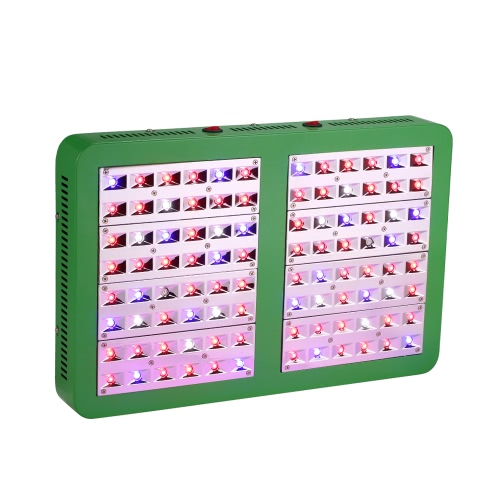 960W 96LEDs 28800LM Double Control Plant Grow Light Full Spectrum Growth Lamp for Indoor Greenhouse Flowers