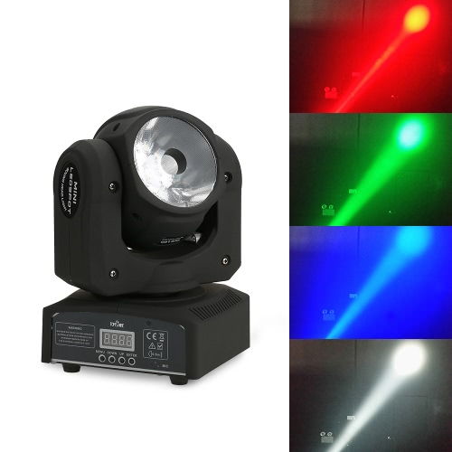 Tomshine Total Power 70W LED RGBW 10/13 Channels Moving Head Lamp Stage Beam Light