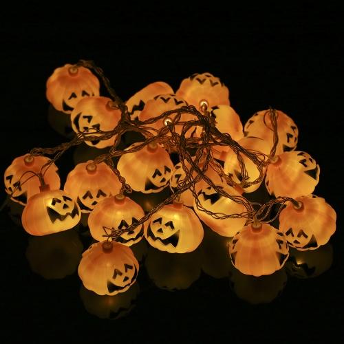 20LEDs 16.4ft Pumpkin String Light Lamp