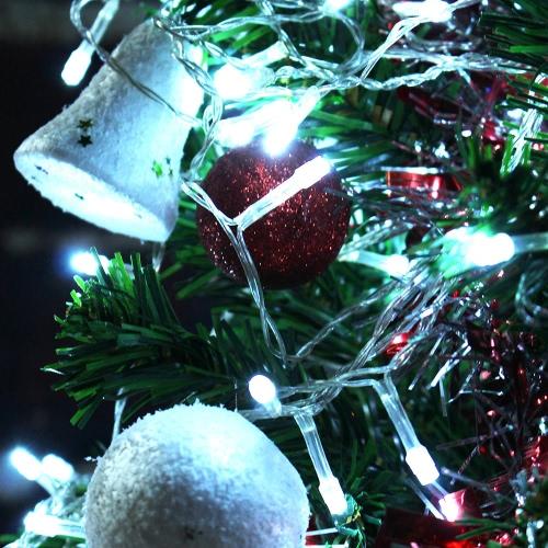 3 * 3M 448 Battery Operated cortina LED de la lámpara de la lámpara de Navidad de hadas luces al aire libre de luces al aire libre