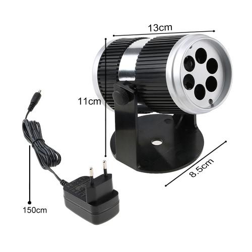 4W 4LED 360 ° Крытый карточный проекционный проекционный светильник Led Snow Lamp фото