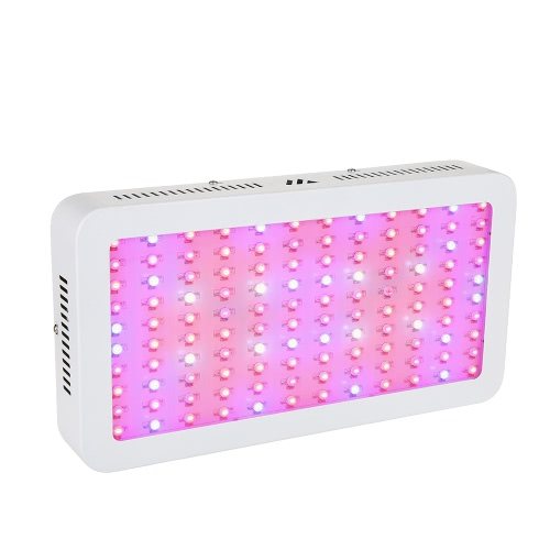 1200W 120LEDs 7601LM Plant Grow Light Double Chip Pleine Spectrum Growth Lamp for Indoor Inverness Flowers