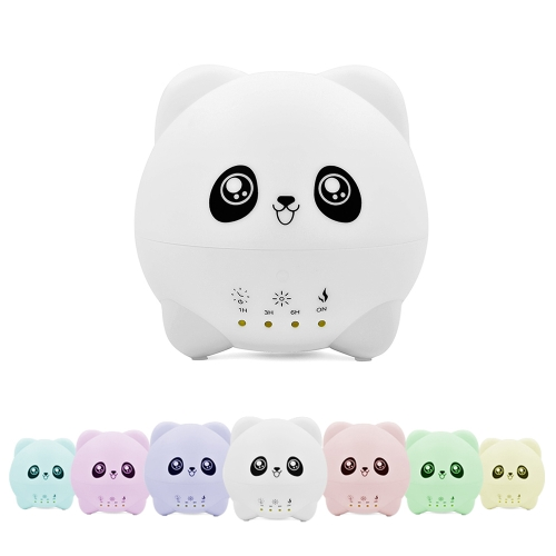 300ml Cool Mist Air Humidifier Ultrasonic Aroma Essential Oil Diffuser Cartoon Design 7 Colors Changing Timing Light for Office Home Bedroom Living Room Study Yoga Spa