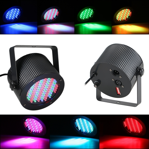 25W 86LEDs RGB DMX Lighting Projector Voice Activated DJ Light Stage