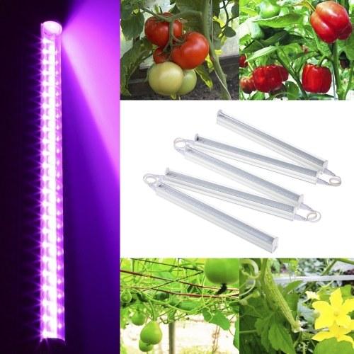 5PC T5 AC85-265V Завод светодиодные растут свет Полный спектр растительных растительных труб