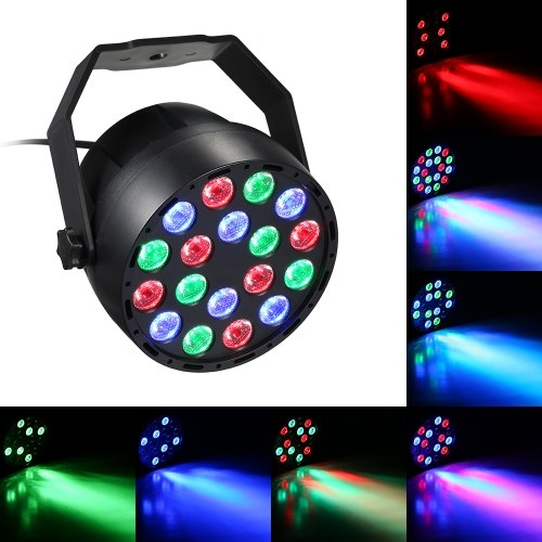 AC90-240V 30W 18 LED Mini RGB Stage Par Light