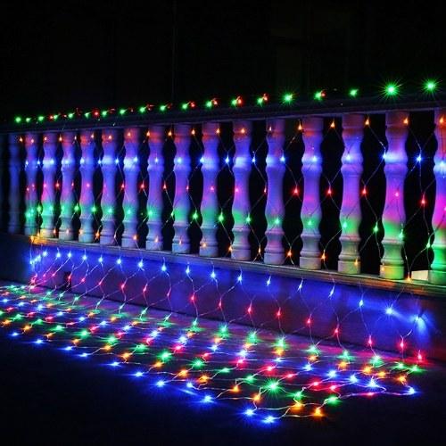 AC220V 4.4W 96 светодиодов Fairy Net Light