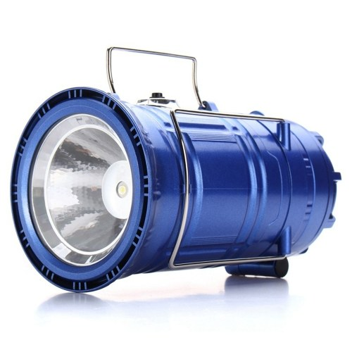 3 In 1 Camping Light Solar Rechargeable Fan LED Hiking Light