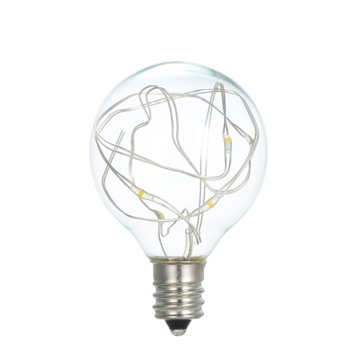 AC100-240V 1.2W 12Feet 12 LEDs G40 String Licht