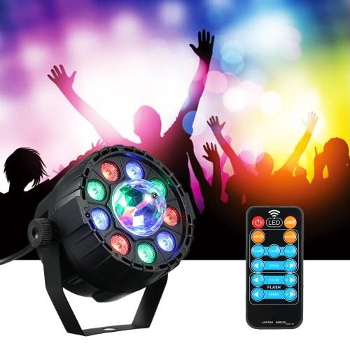 DMX 512 9 + 1 LED RGB Stage Light RGBW Par Lights