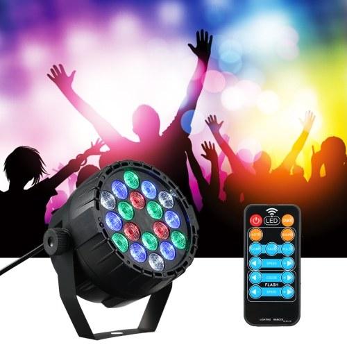 DMX 512 18 LEDs RGBW Stage Light Mini Par Lights